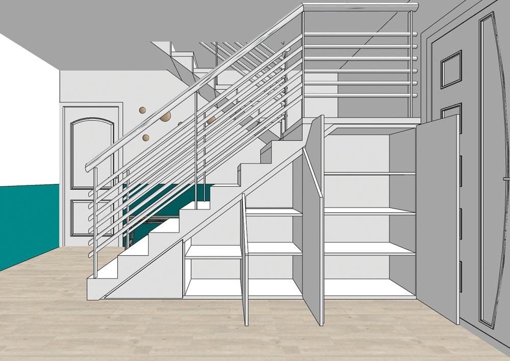conception-meuble-rangement-sous-escalier-maison-saint-genis-laval
