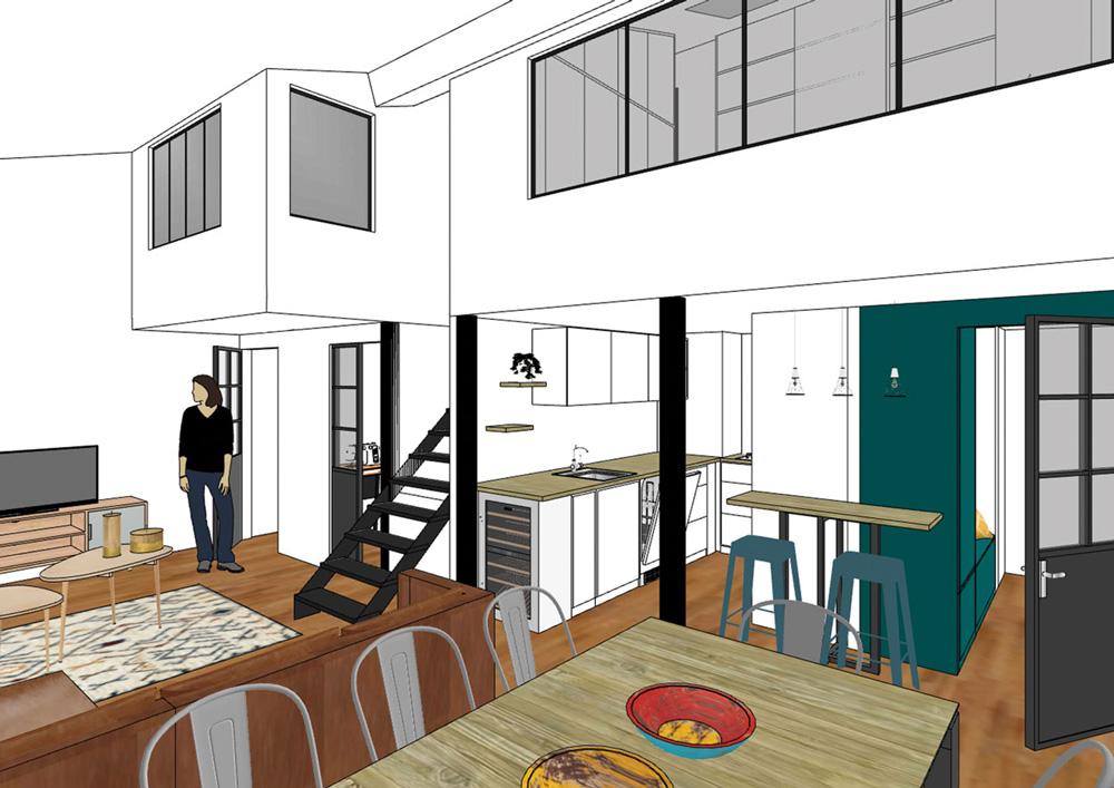 vue-3d-amenagement-interieur-appartement-canut-croix-rousse-lyon-1er