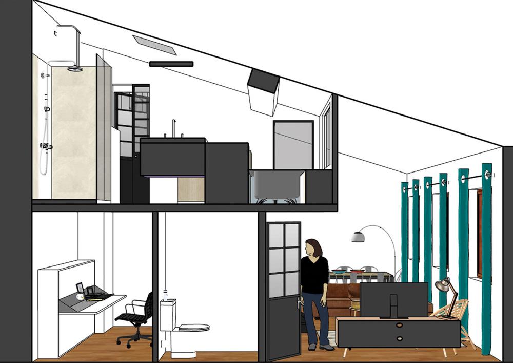 vue-en-coupe-appartement-canut-amenagement-interieur