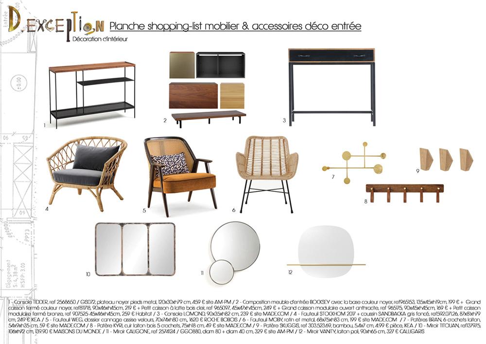 planche-shopping-list-mobilier-accessoires-deco-entree-appartement-lyon-3