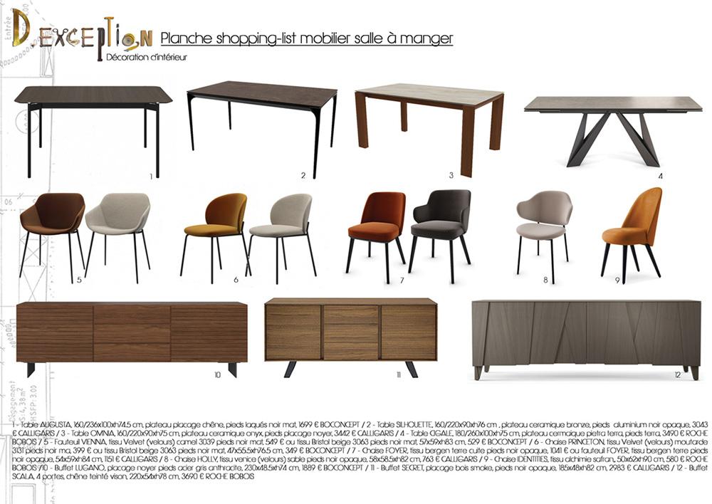planche-shopping-list-mobilier-salle-a-manger-appartement-lyon-3