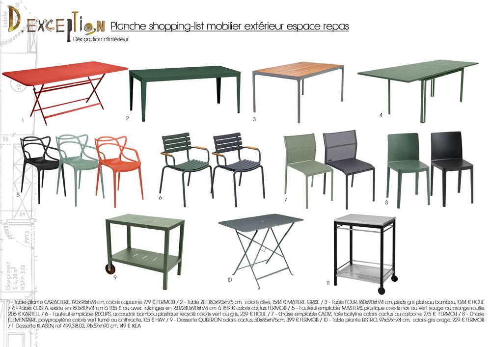 planche-shopping-list-mobilier-exterieur-espace-repas-terrasse-appartement-lyon-5eme